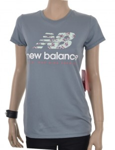 T-shirt New Balance WT81557SLA